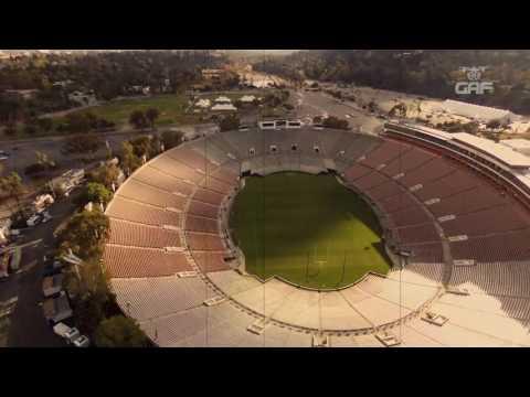 Rose Bowl Stadium 2017 by GAF Films
