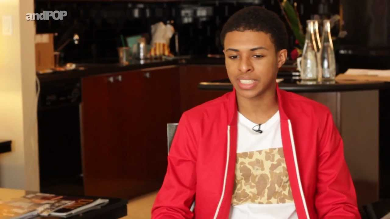 Diggy simmons interview about dating