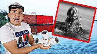 Мы расставили камеры на проклятом причале, чтобы спасти Скрягу и поймать болотного монстра