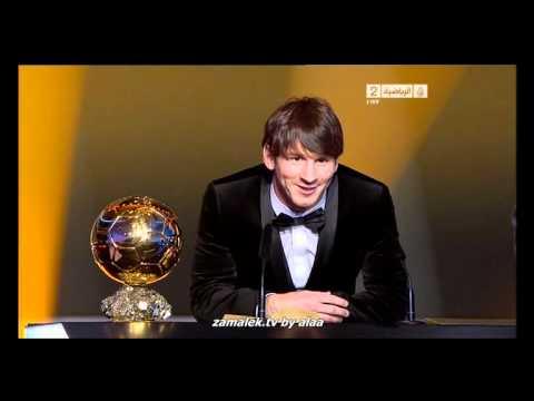 messi FIFA Ballon d'Or 2010