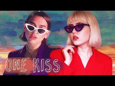 транслейт Dua Lipa Calvin Harris - ONE KISS Russian Cover  На русском