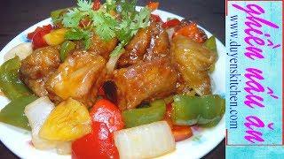 Cách Làm SƯỜN XÀO CHUA NGỌT Kiểu Trung Hoa By Duyen's Kitchen | Ghiền Nấu Ăn