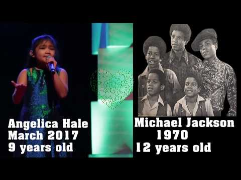 """Angelica Hale, Trey Lorenz, Mariah Carey and The Jackson 5 """"I'll Be There"""""""