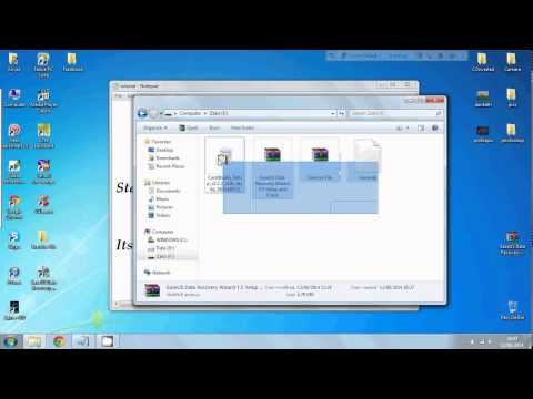 Recover Files From Formatted USB, Hard Disk or SD Card (Software+Crack)