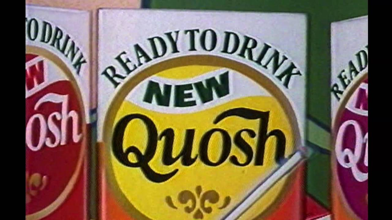 Quosh TV Commercial 1985