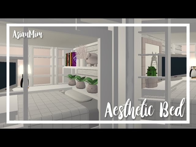 Roblox Bloxburg - Aesthetic Bed (Tutorial)