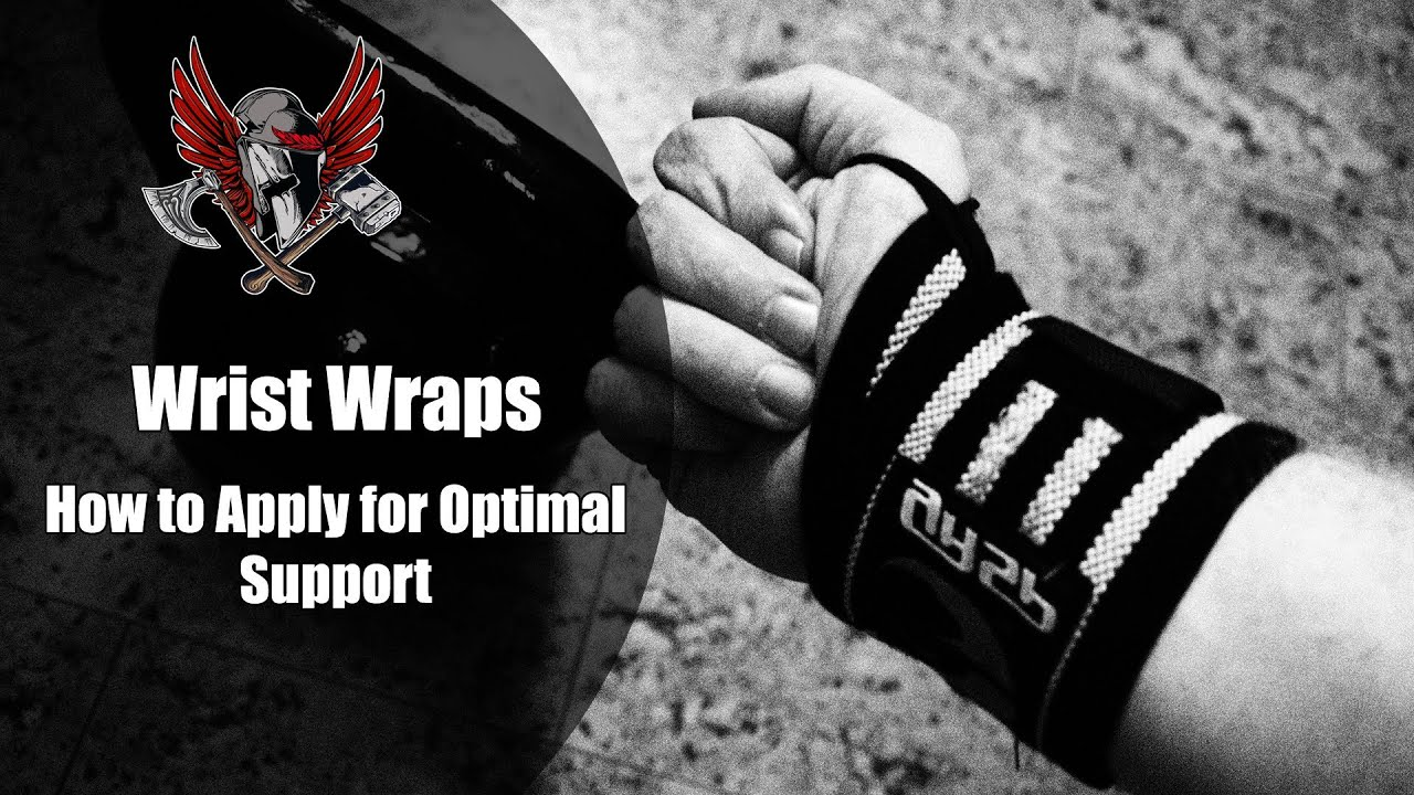 How to Use Wrist Wraps for Heavy Lifts - YouTube