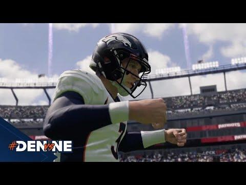 Broncos at Patriots | Madden 21 Simulation