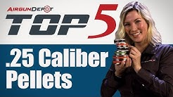 Top 5 .25 Caliber Pellets