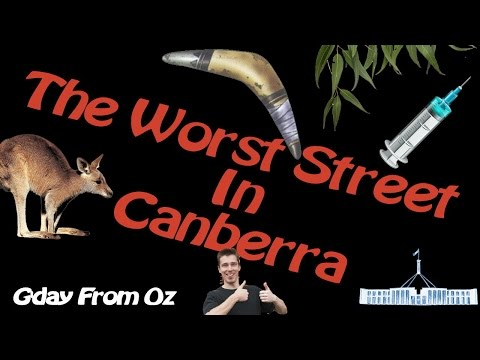 Welcome To The WORST Street In Canberra, Australia - Karuah Street Dickson