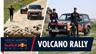 The Land of the Bulls! | Daniel Ricciardo and Max Verstappen take it off track in Azerbaijan