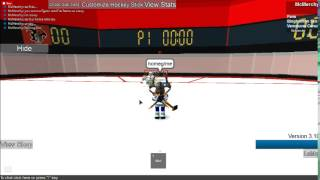 How to become a goalie in roblox hockey HHCL