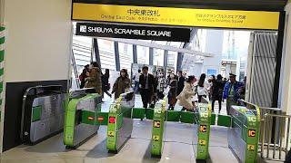 いよいよオープン!JR渋谷駅「中央東改札」供用開始当日の様子  2020年1月29日