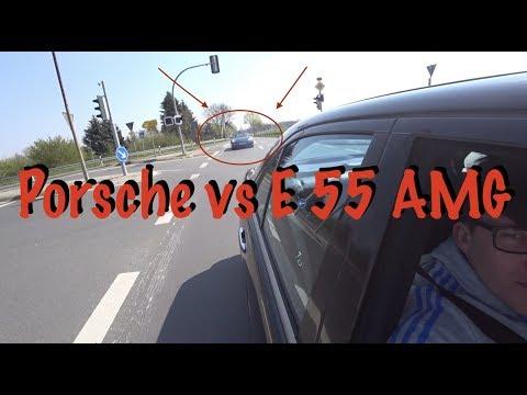 Обзор на  Mercedes E 55 AMG ! AMG 55 W210