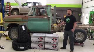 1963 Chevy 3/4 Ton 4x4 Build - Rim Reveal