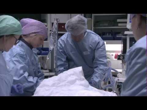 En traumapatient i Nya Karolinska Solna