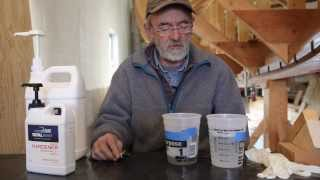 The proper way to mix and use 5:1 Epoxy for fiberglass boat work