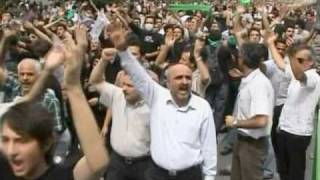 Thousands in Tehran Protest Election Results