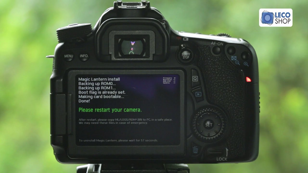 Canon 70D Como Baixar e Instalar o Magic Lantern