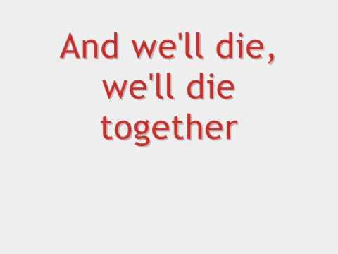 Muse - Neutron Star Collision + Lyrics on Screen