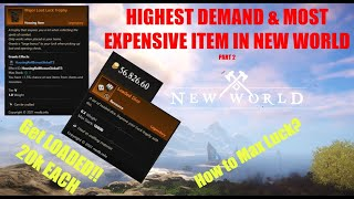 How to Max Lขck or Make BANK - Where to Find Loaded Dice | New World