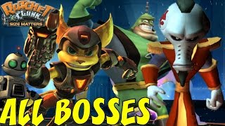 Ratchet and Clank: Size Matters - All Bosses (No Damage)