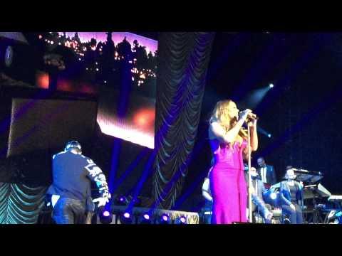 Mariah Carey MEDLEY Auckland NZ Concert 2014