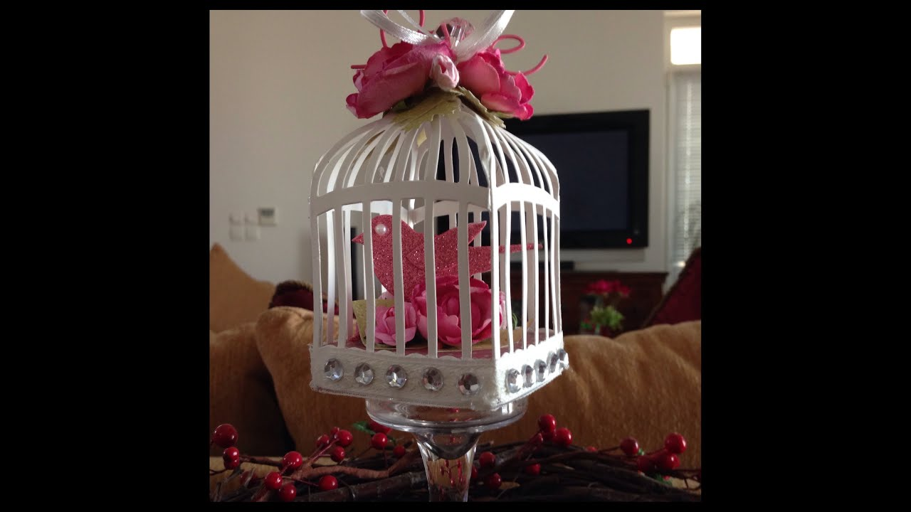 Birdcage Shabby Chic Decor Youtube
