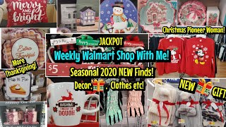 NEW WALMART CHRISTMAS 2020 DECOR, GIFTS, BLĄCK FRIDAY, CLOTHES, PIONEER WOMAN & MORE! SHOP WITH ME