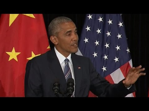 Obama ducks Filipino president, reacts to North Korea
