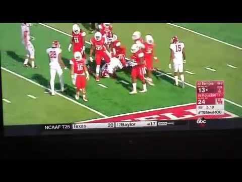 Nolan Frese 2015 punt coverage highlights