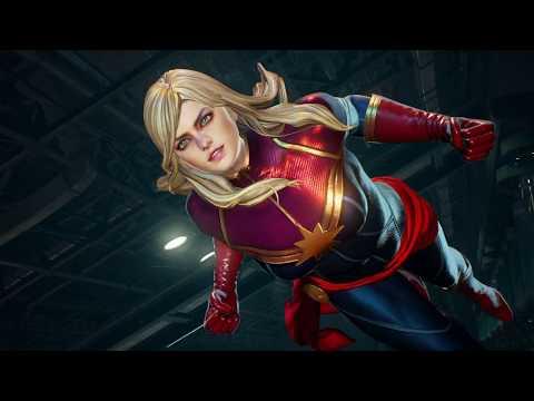 MARVEL VS  CAPCOM  INFINITE Arcade-Morrigan & Captain Marvel