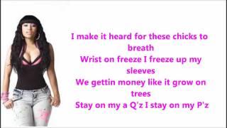 Playtime is Over- Nicki Minaj (lyrics) [HD]