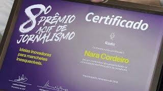 Rádio AL recebe prêmio ACIF de jornalismo