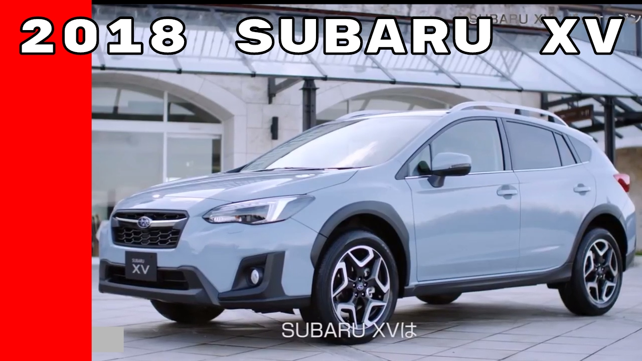 2018 subaru xv features crash test options youtube. Black Bedroom Furniture Sets. Home Design Ideas