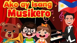 I Am The Music Man in Filipino | Philippines Kids Nursery Rhymes & Songs | Awiting Pambata