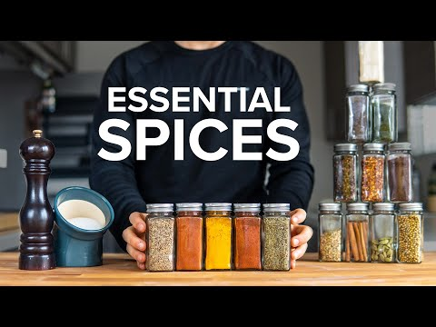 Beginner's guide to BUYING, STORING & ORGANIZING SPICES