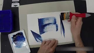 Test et présentation de matériel de peinture :  Spalter biseau