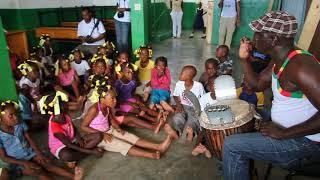 Medoune Yacine Gueye (aka Papa Dame) Teaching in Haiti - 2012