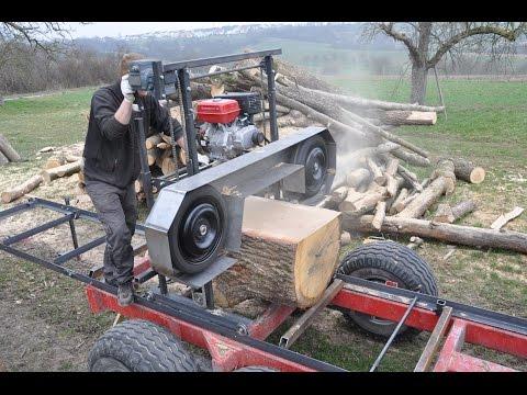 download video blockbands ge eigenbau homemade sawmill. Black Bedroom Furniture Sets. Home Design Ideas