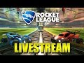 Rocket league chilling with viewers