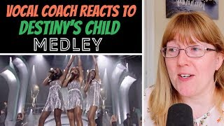 Vocal Coach Reacts to Destiny's Child Medley LIVE World Music Awards '05
