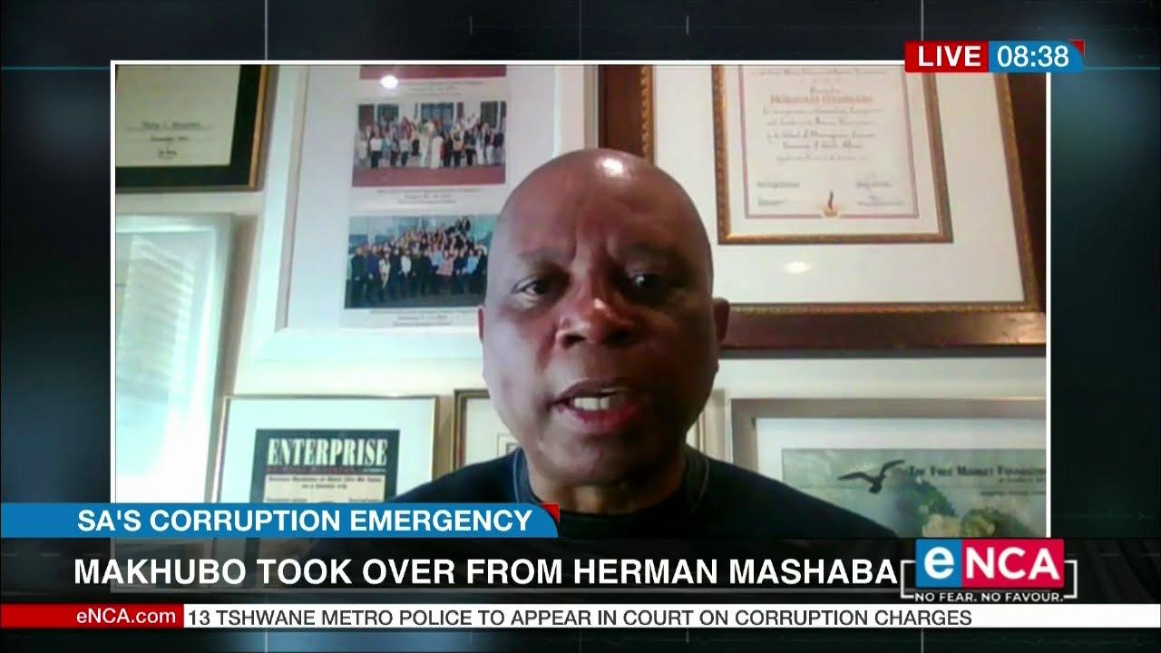 Mashaba react to Joburg mayor Makhubo being cleared of wrongdoing - eNCA