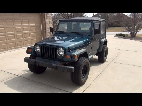 1998 Jeep Wrangler Review | Tour & Over View | Walk ...