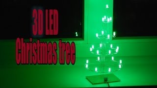 3D LED Christmas tree