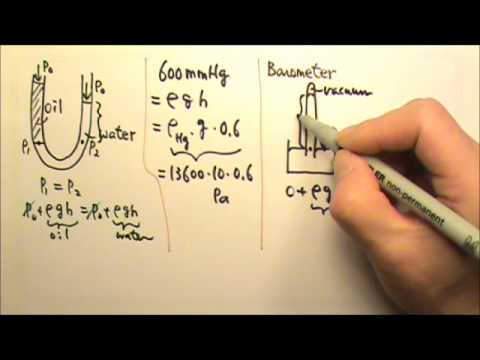AP Physics 2: Review: Fluid Mechanics 1: Pressure by Fluid at Rest