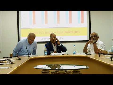Comparing financial markets of India and China || U K Sinha