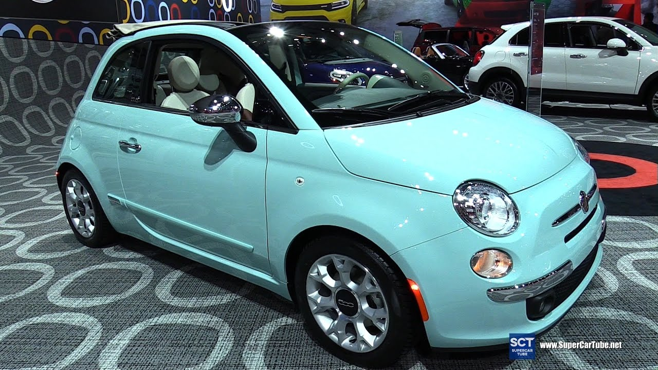 2017 Fiat 500 - Exterior and Interior Walkaround - 2016 LA Auto Show ...