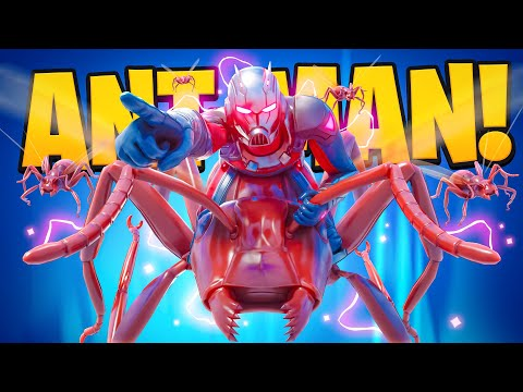 ANT-MAN in FORTNITE! - Fresh