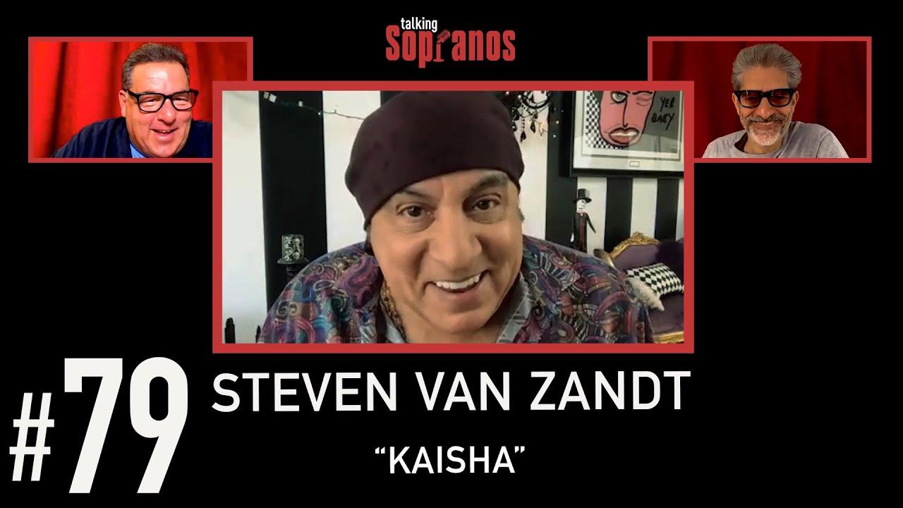 """Download Talking Sopranos #79 w/Steven Van Zandt (Silvio Dante) """"Kaisha""""."""